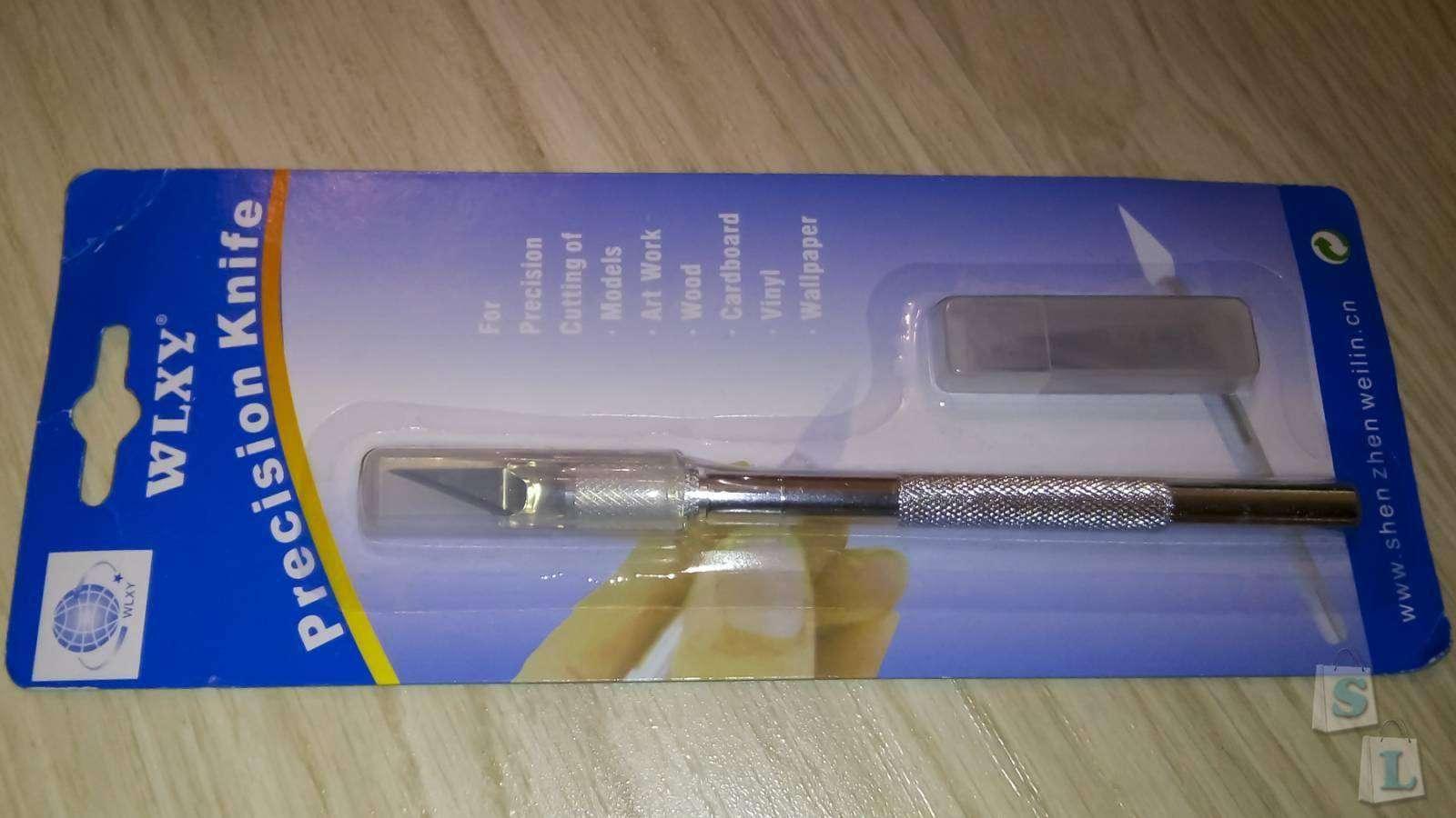 GearBest: Гравер-скальпель WL - 9309 со сменными лезвиями