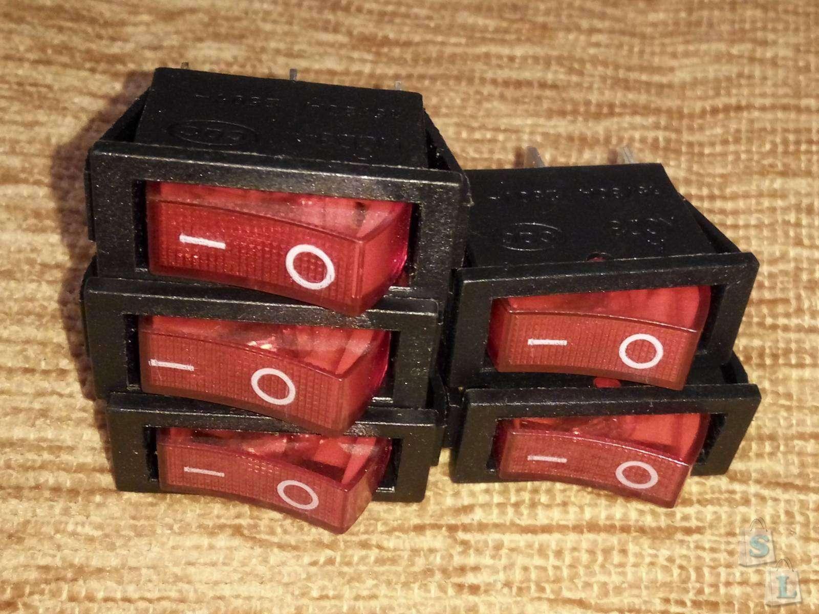 Aliexpress: Комплект компактных переключателей