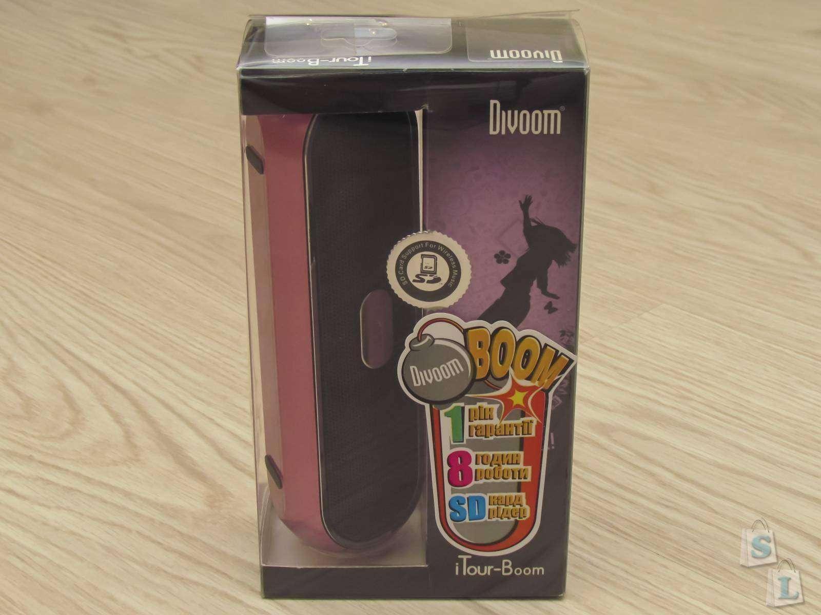 Розетка: Обзор внешней колонки Divoom iTour-Boom Jack Pink