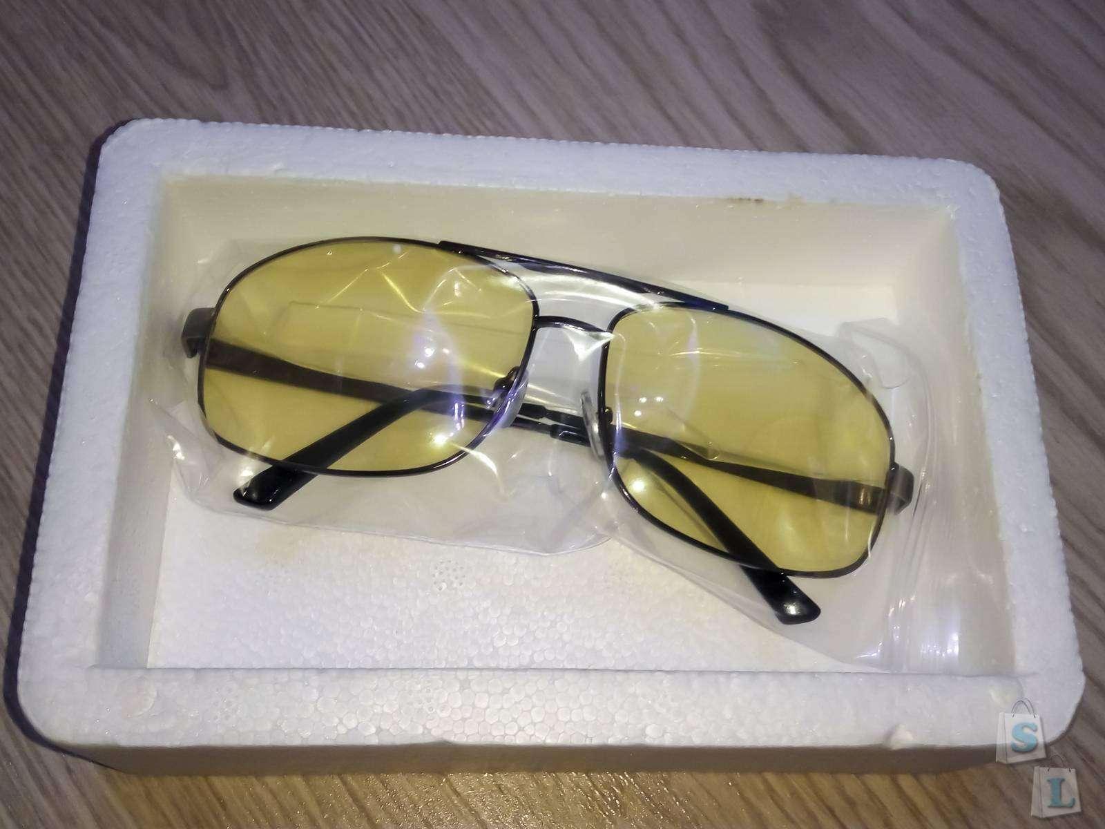 Aliexpress: Желтые очки для вождения
