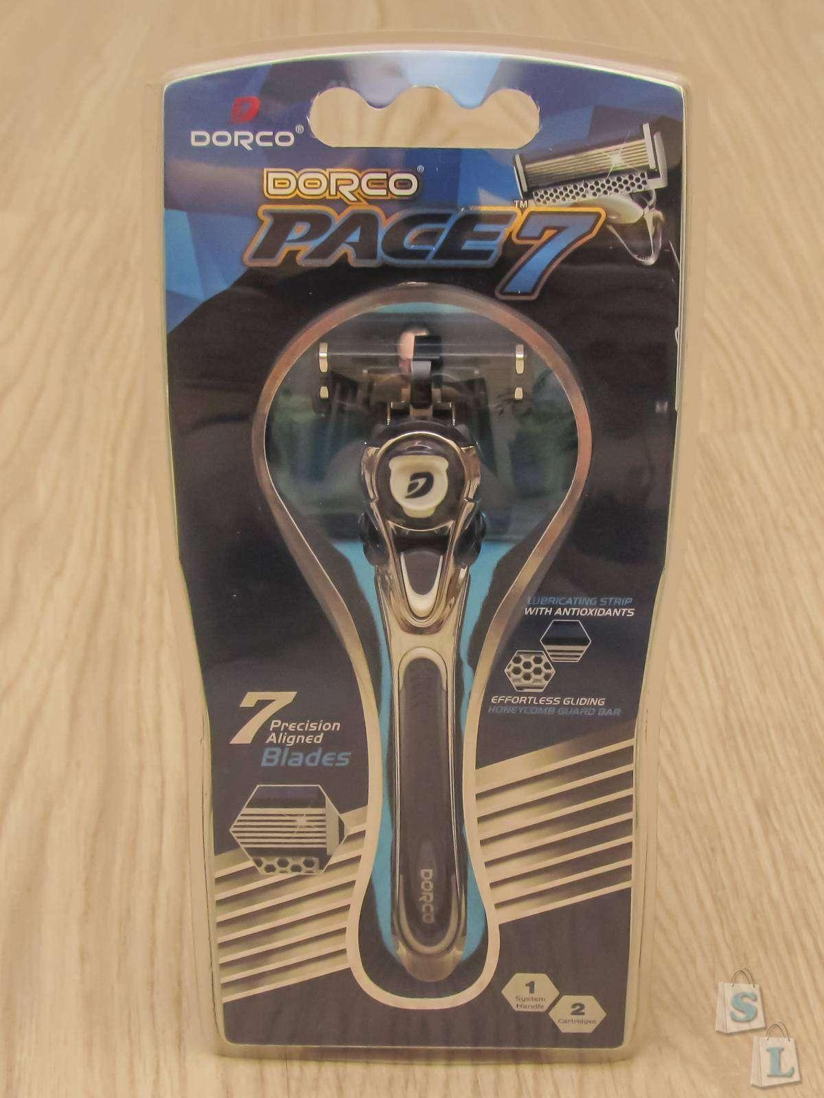 Другие - США: Супервыгодная покупка набора 7 лезвийных бритв Dorco Pace 7