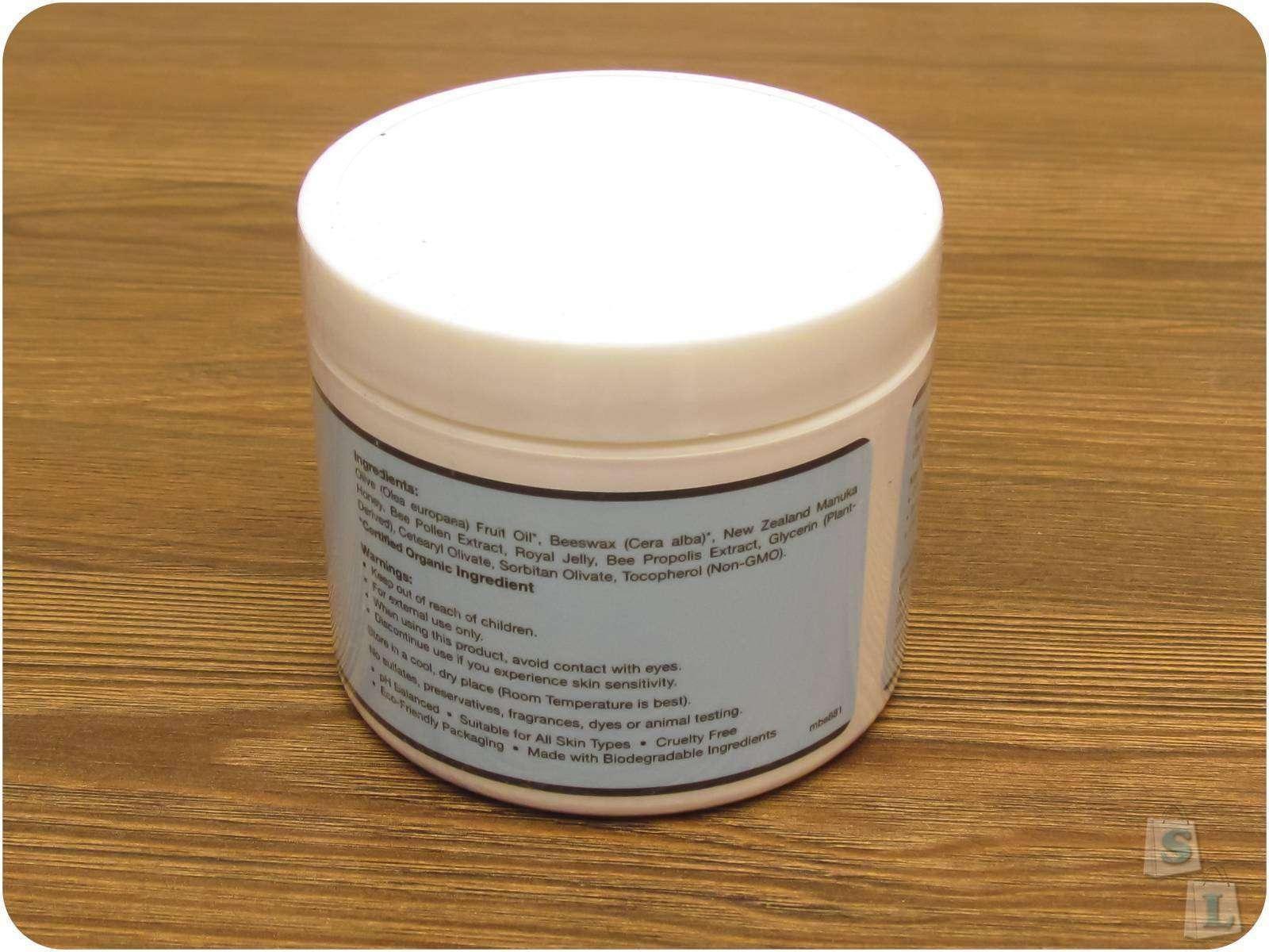 IHerb: Натуральный крем для кожи с медом чайного дерева Манука, Madre Magic