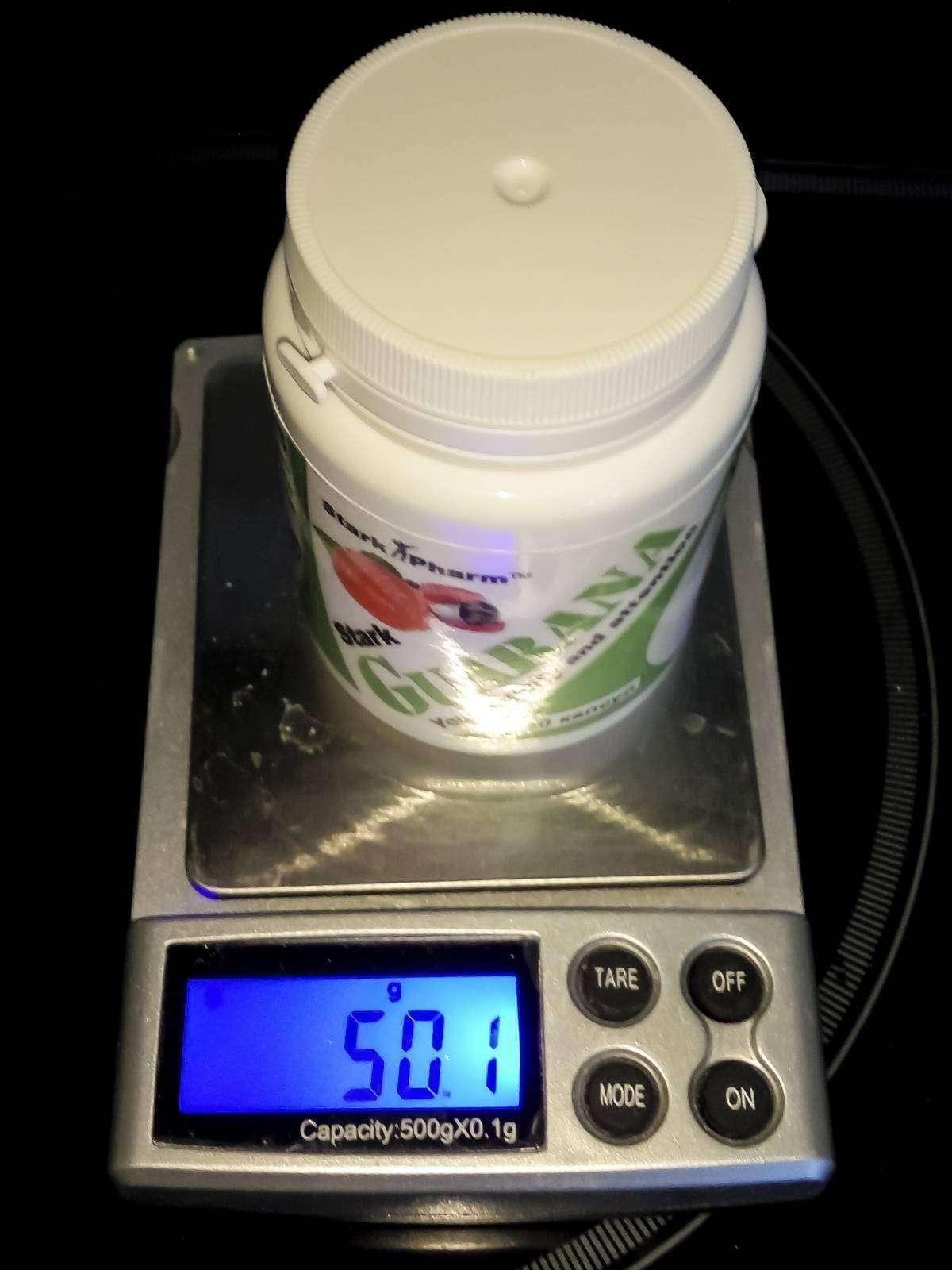 Proteininkiev: Предтренировочная добавка - Stark Guarana 600 мг 60 капсул