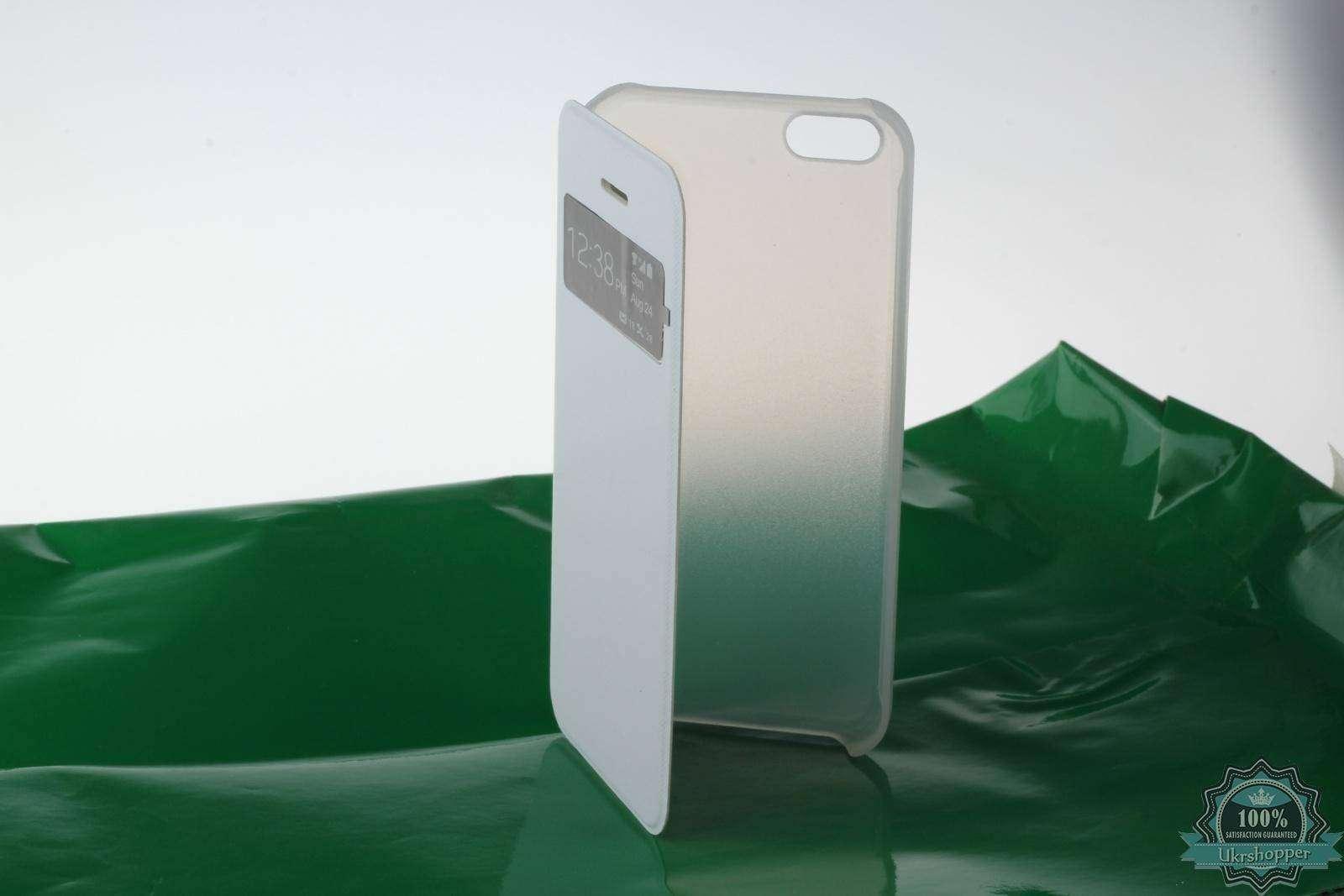 TinyDeal: Пластиковый чехол книжка с окошечком для нового Iphone 5C