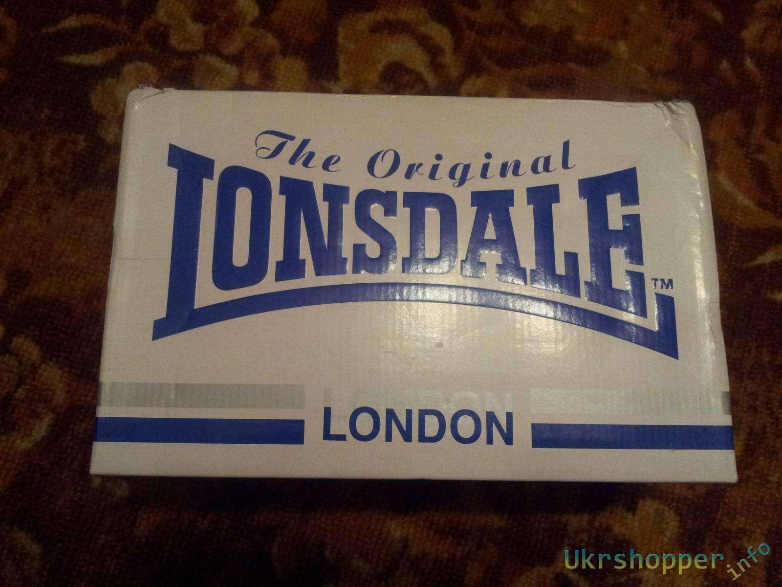 Sportsdirect: Обзор кожаных женских кроссовок Lonsdale London