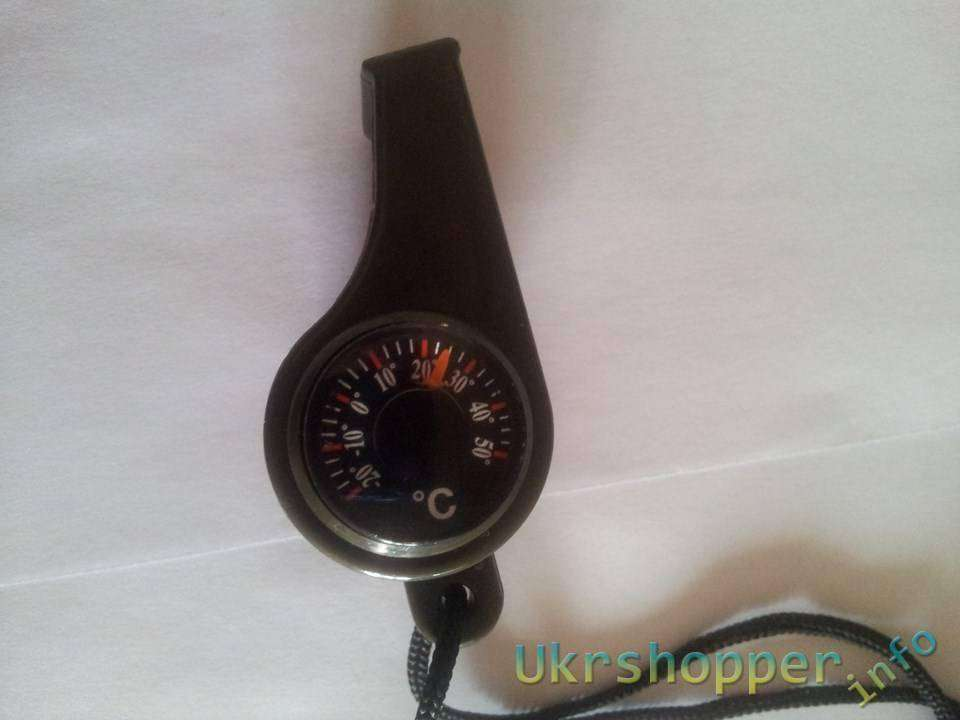 Aliexpress: Обзор детского свистка с компасом и термометром