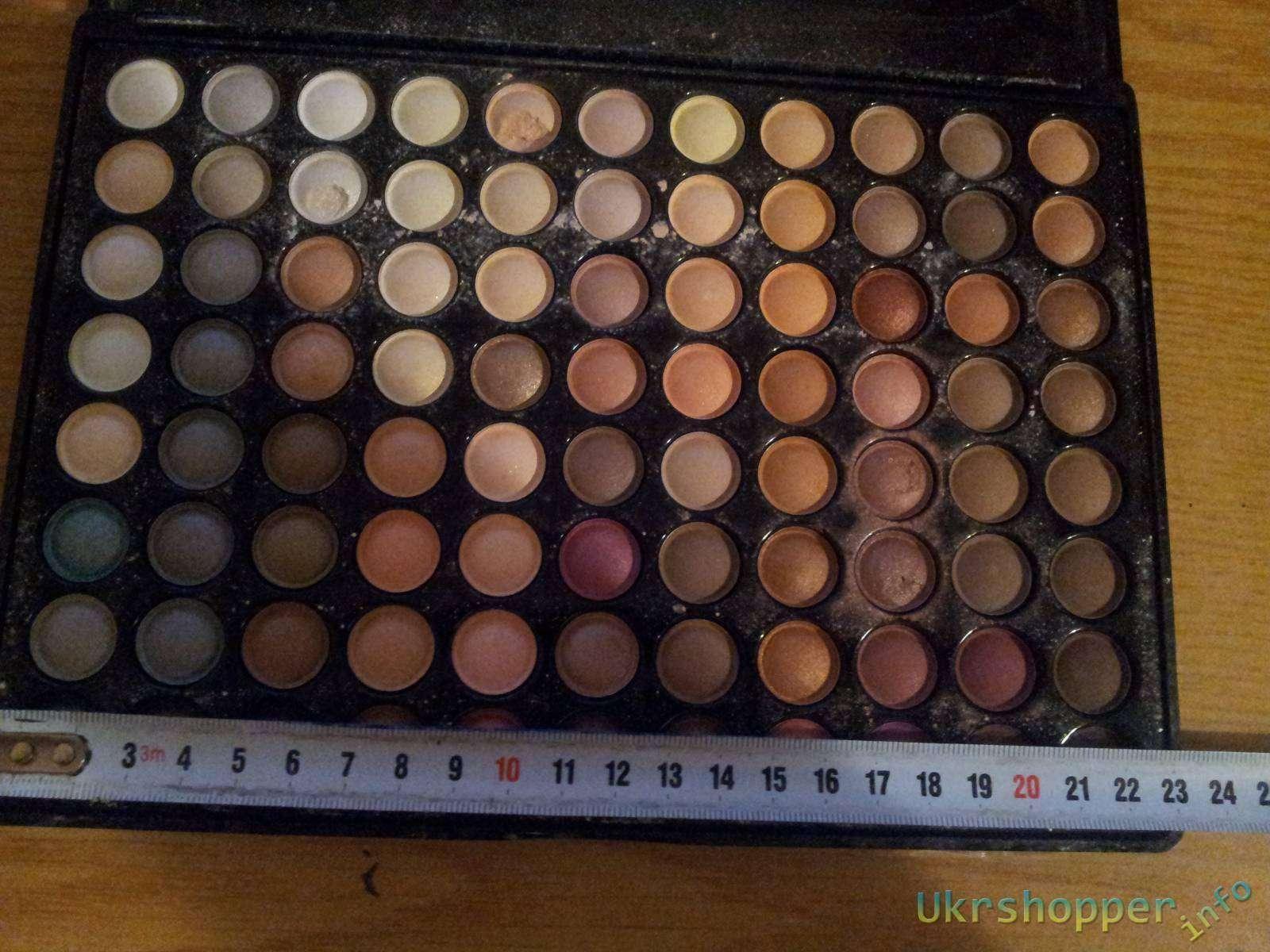 BuyinCoins: Обзор не дорогой палетки для макияжа на 88 цветов