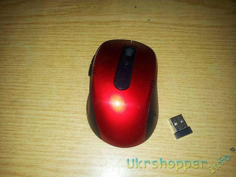 TinyDeal: Обзор не дорогой беспроводной походной мышки для ноута или компьютера