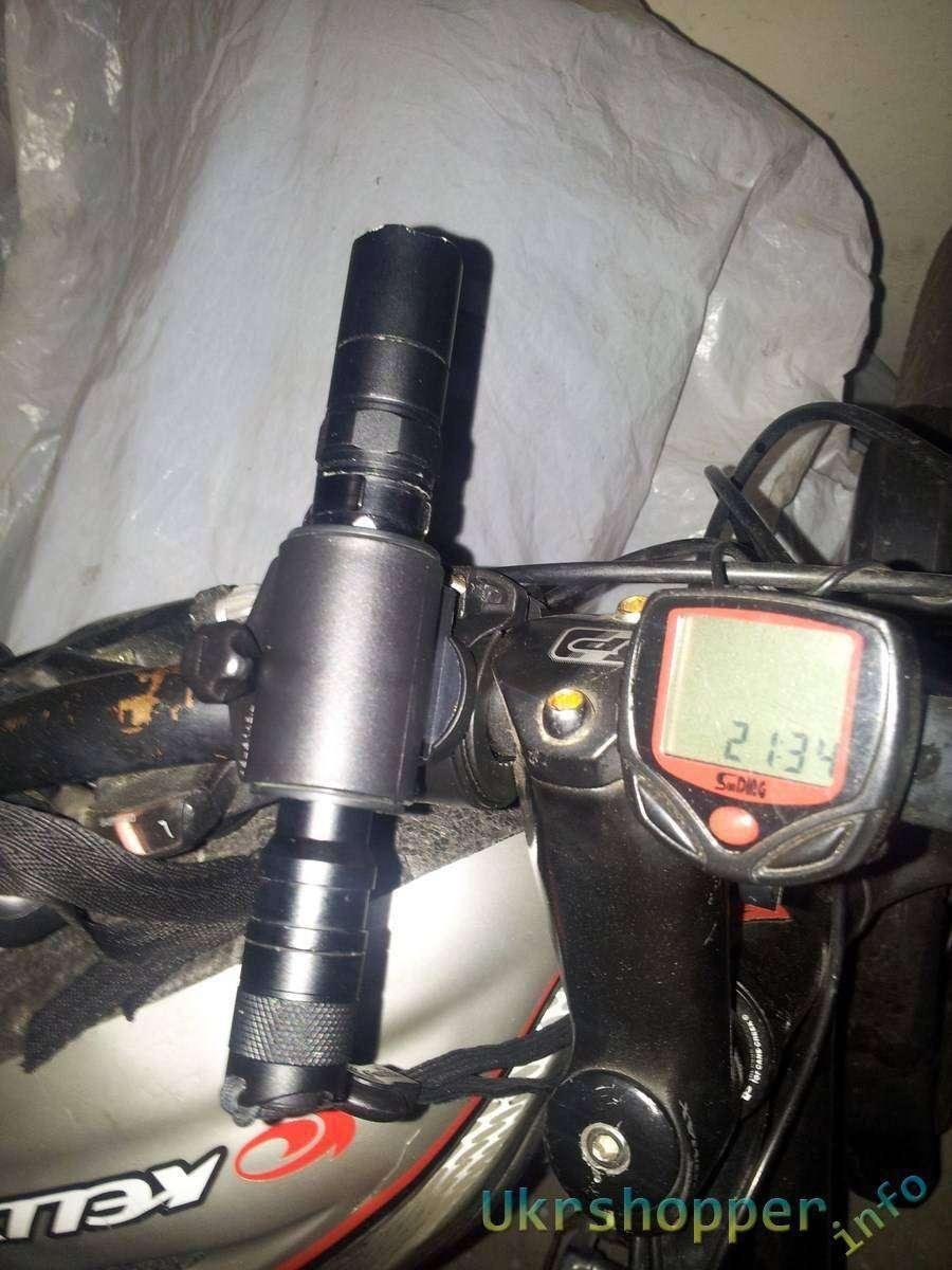 TinyDeal: Обзор универсального велосипедного разборного крепления для фонаря