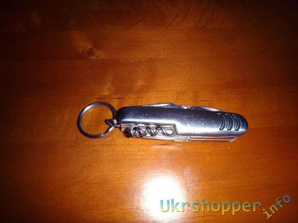 DealExtreme: Обзор ножика мультитула 10 в 1 или брелок на всякий случай