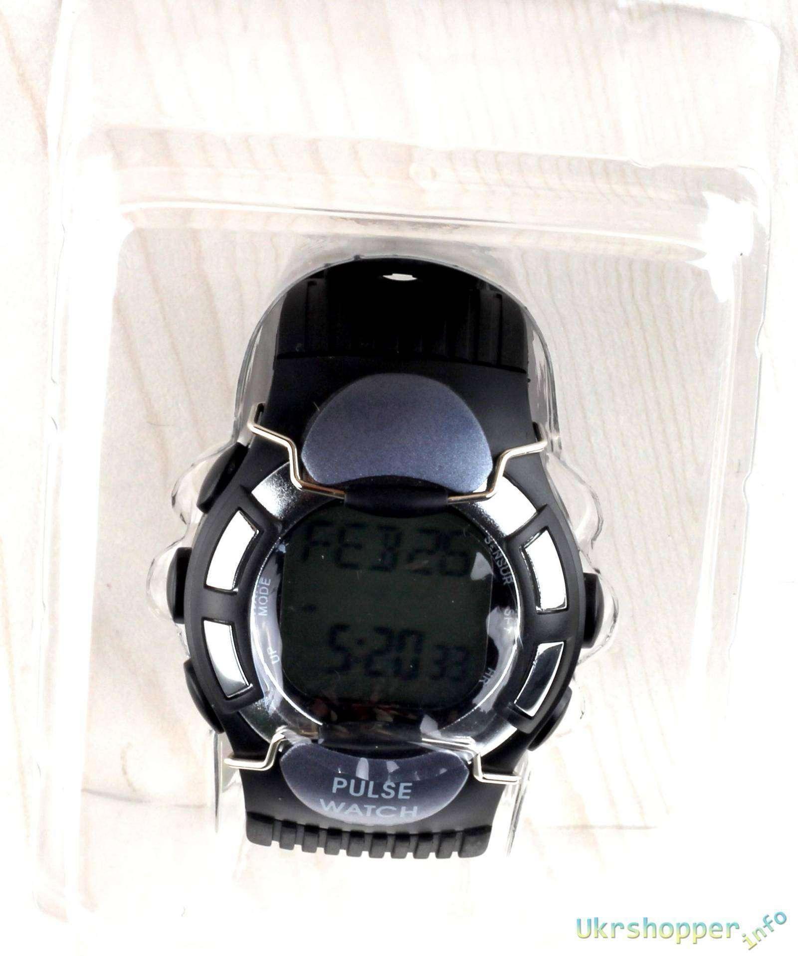 Aliexpress: Обзор электронных часов KYTO с пульсомером, шагомером, счетчиком калорий.