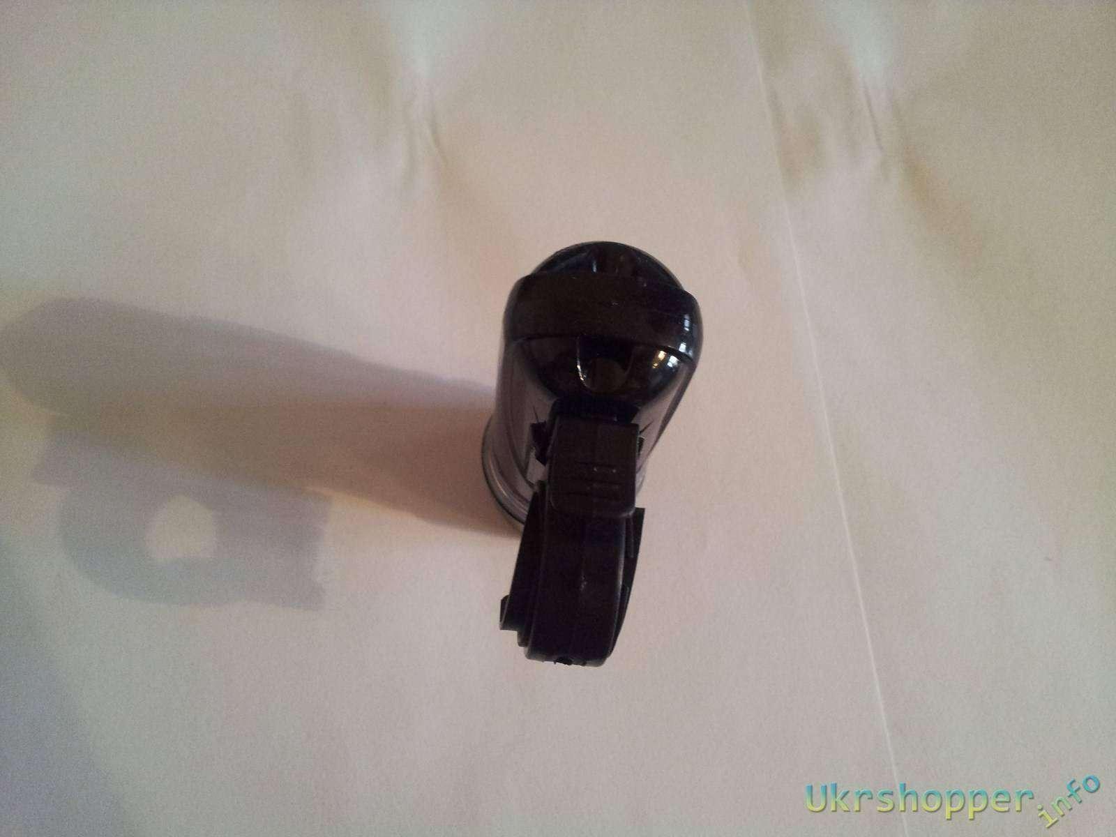 Aliexpress: Обзор велосипедного фонарика Power beam который не стоит покупать