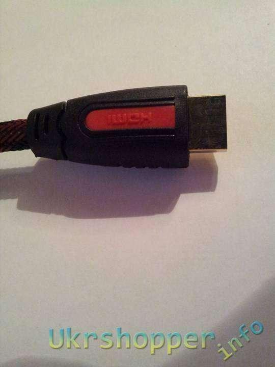 Aliexpress: Обзор недорогого но хорошего HDMI кабеля 1,5 метра