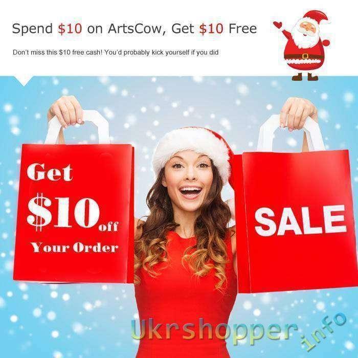 Другие: Купон на 10$ при заказе от 10$ от сайта artscow