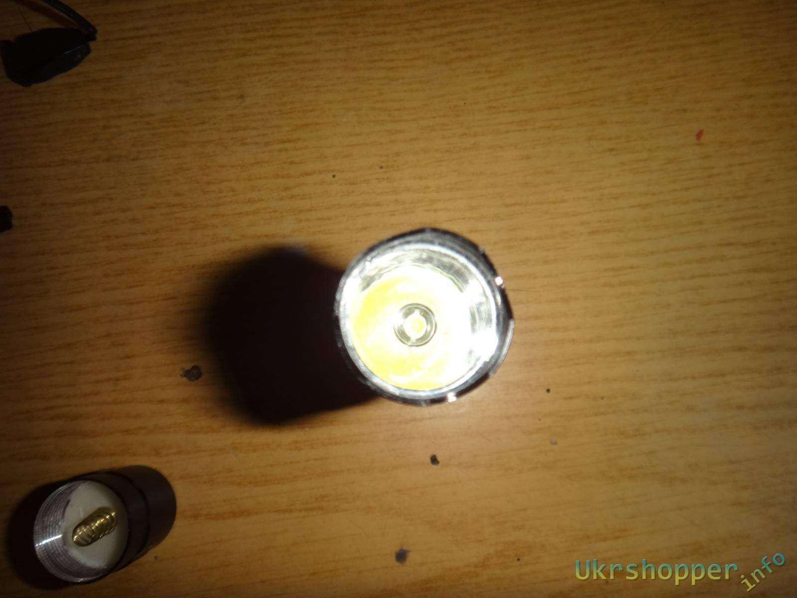 Tmart: Обзорчик подаренного фонарика от Тмарт