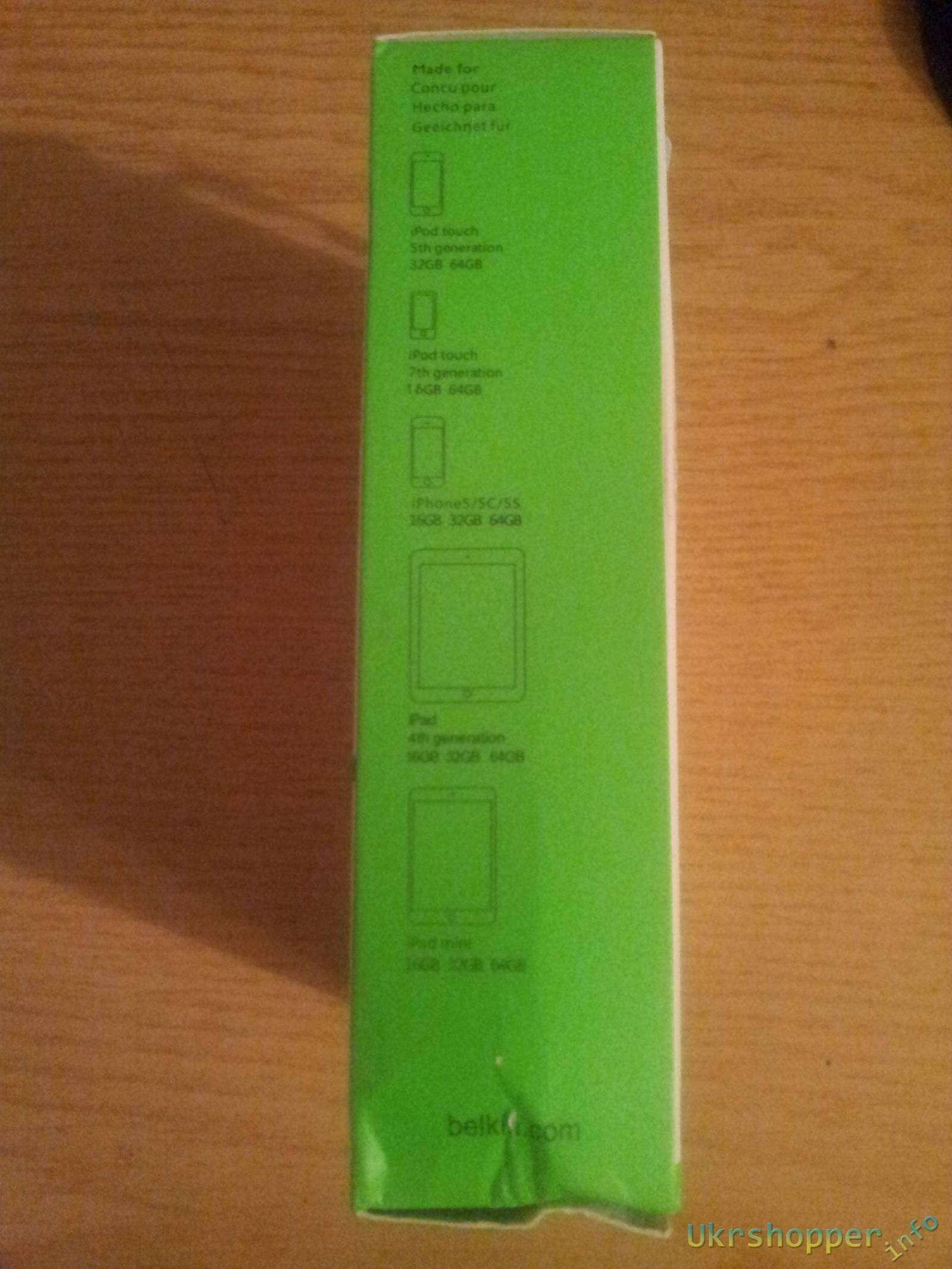 Ebay: Качественное автомобильное зарядное устройство на 2 USB гнезда 2,1 А от Belkin для Iphone