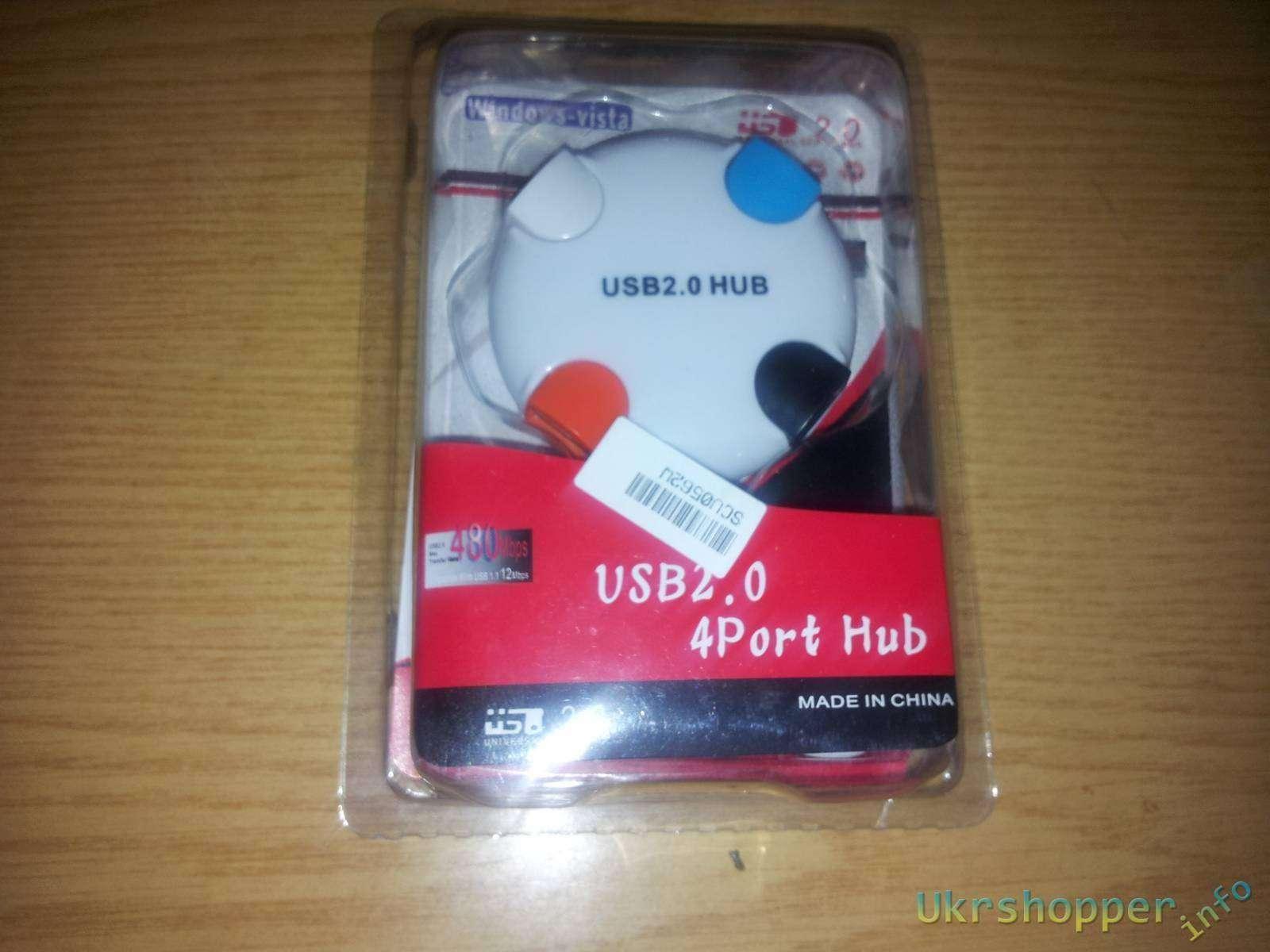 Aliexpress: Обзор 4 -х портового USB HUB 2.0 Bead Style - от слова БЭД