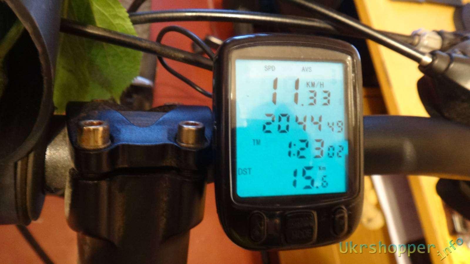 DealExtreme: Обзор отличного велокомпьютера на 26 функций с подсветкой SunDing SD-563A