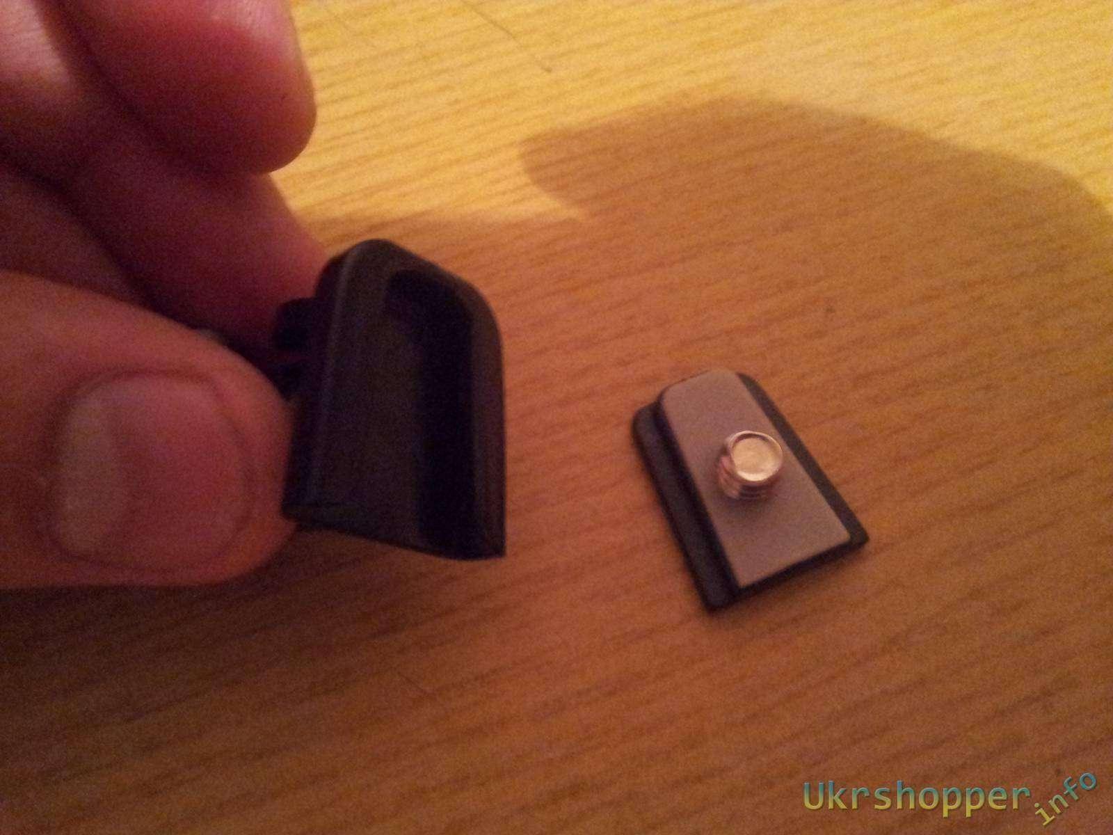 Aliexpress: Гибкий трипод в роли автомобильного держателя для регистратора