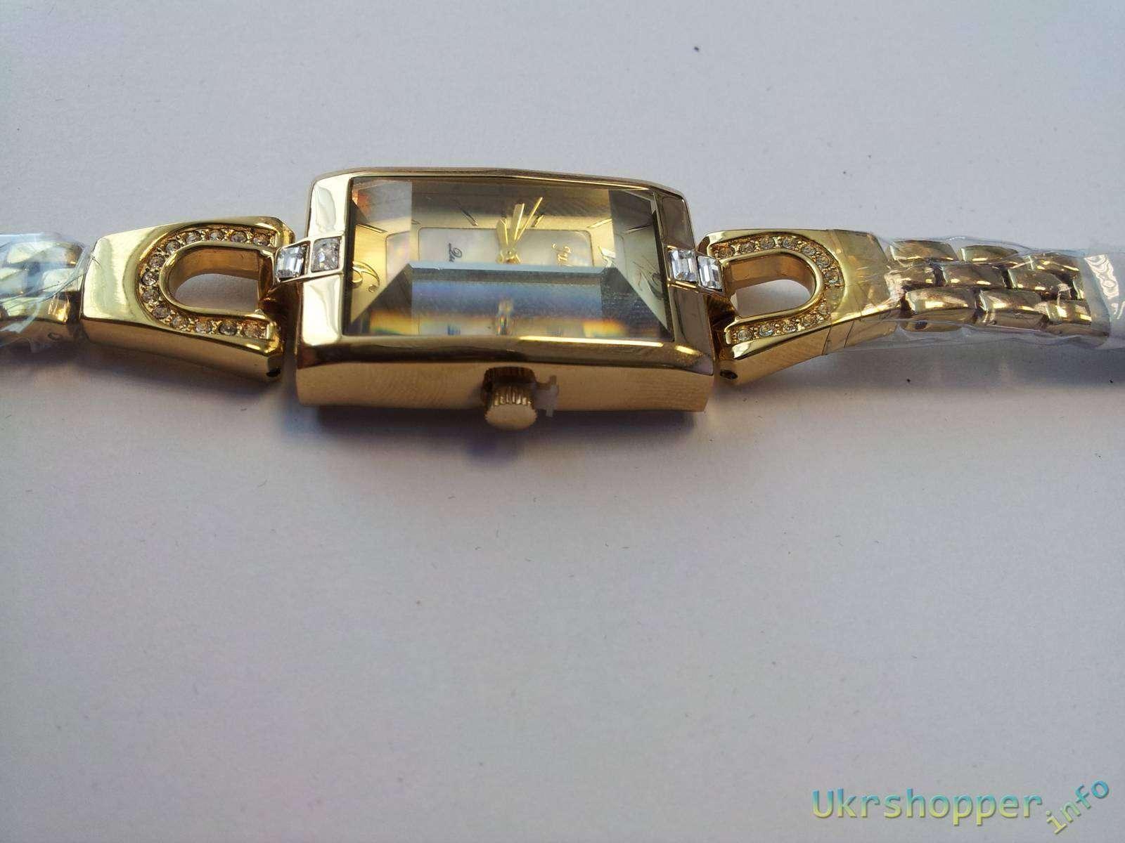 TinyDeal: Стильные и элегантные женские кварцевые часы JULIUS