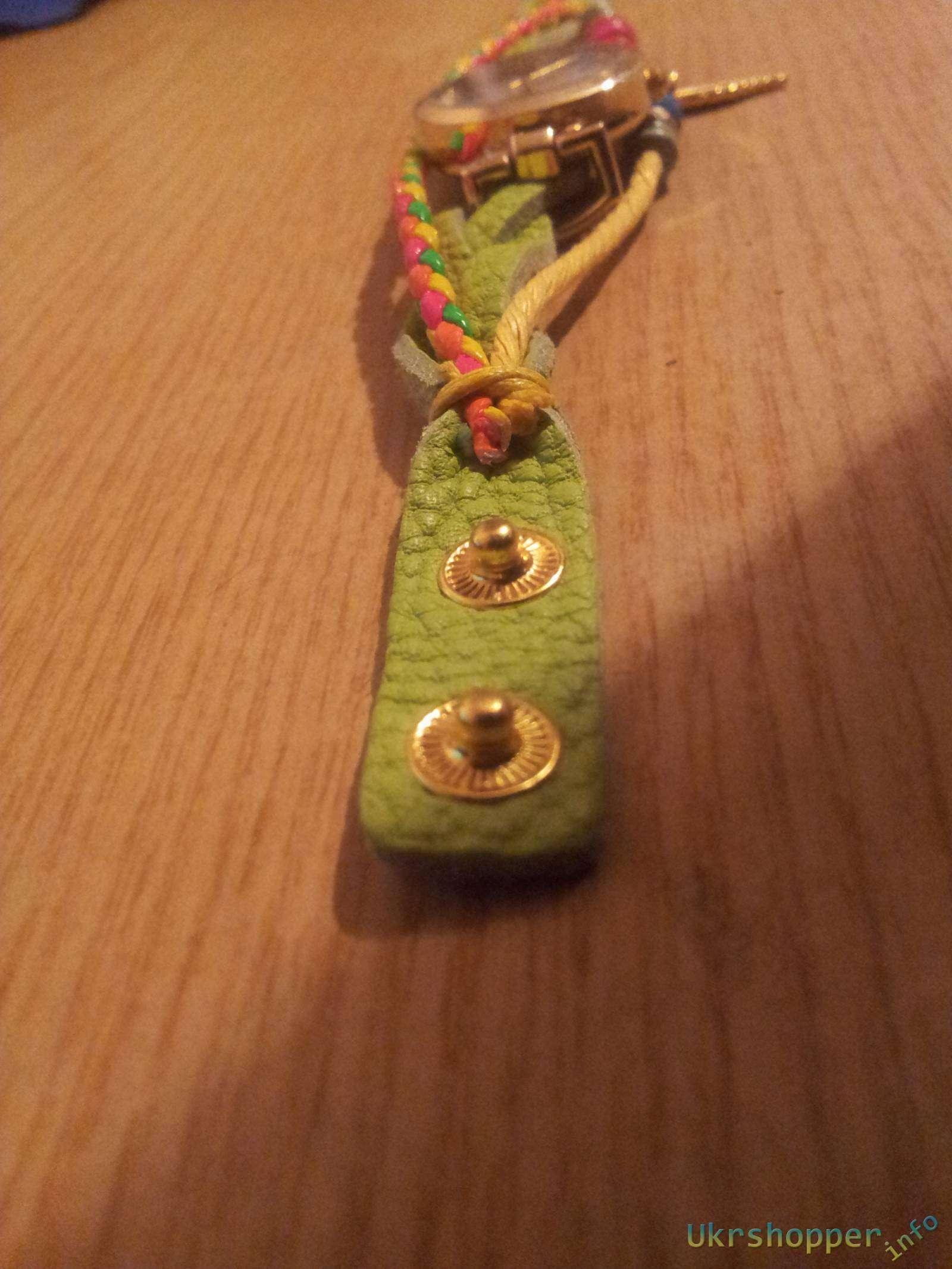 Comebuy.com: Молодежные кварцевые часы с фенечками или привет из Франции