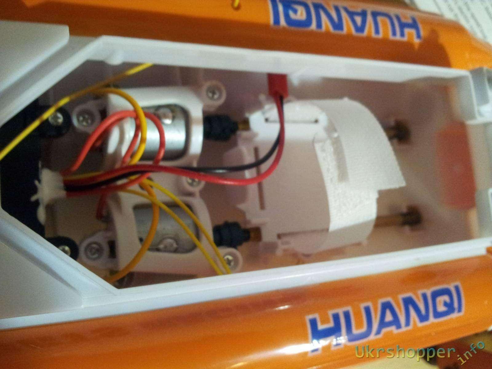 TinyDeal: Обзор отличной радиуправляемой лодки Huanqi 951 на 2 каналах и  40 mHz