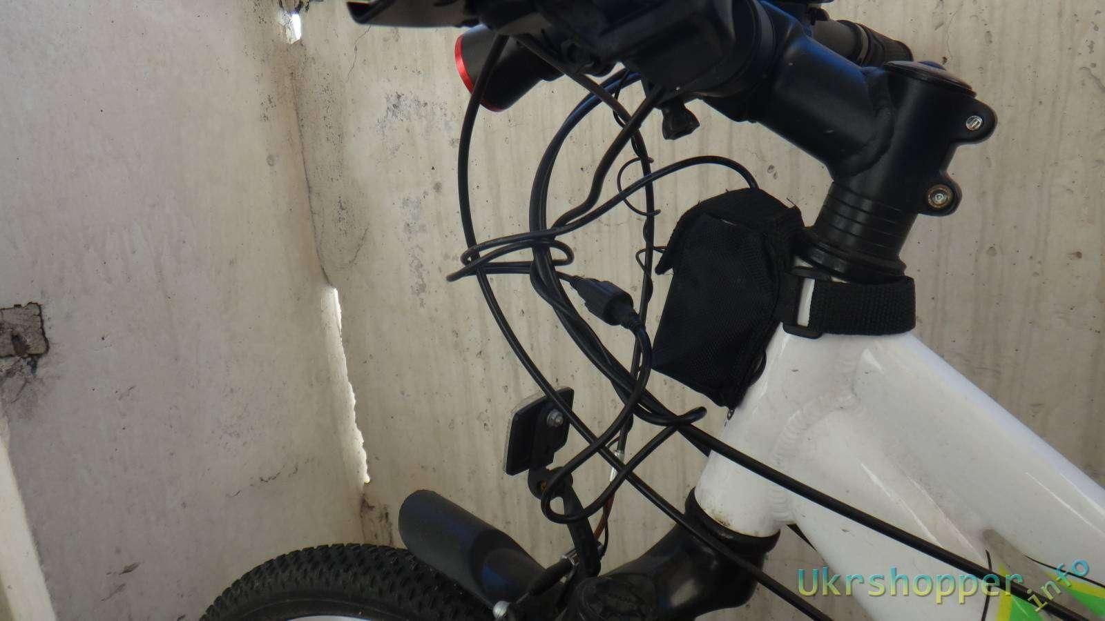 Comebuy.com: Обзор велосипедного фонаря SolarStorm X2 на двух Cree XM-L2 и выносным аккумулятором  на 4*18650