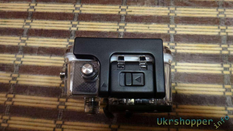 GearBest: Обзор экшнкамеры SJ4000 IP68 в противоударном водозащищенном чехле видеорегистратор на велосипед