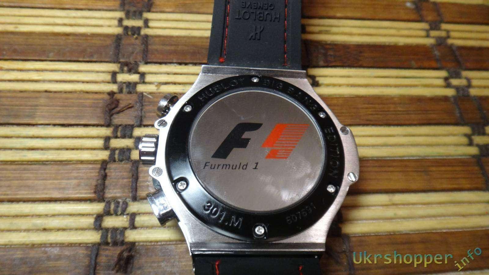 Popkind: Обзор реплики часов Hublot FORMULA 1 KING POWER CERAMIC - или фанам F1 посвящается