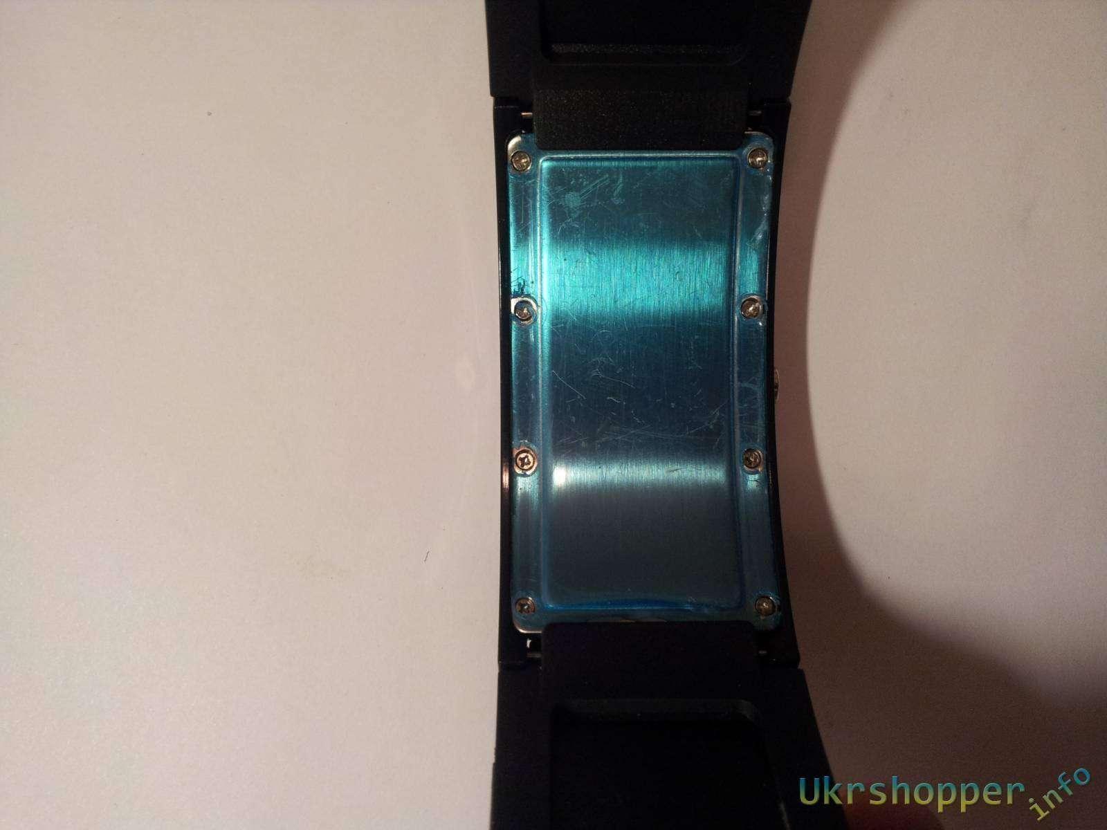 Aliexpress: Обзор оригинальных LED часов - браслета с настраиваемой бегущей строкой