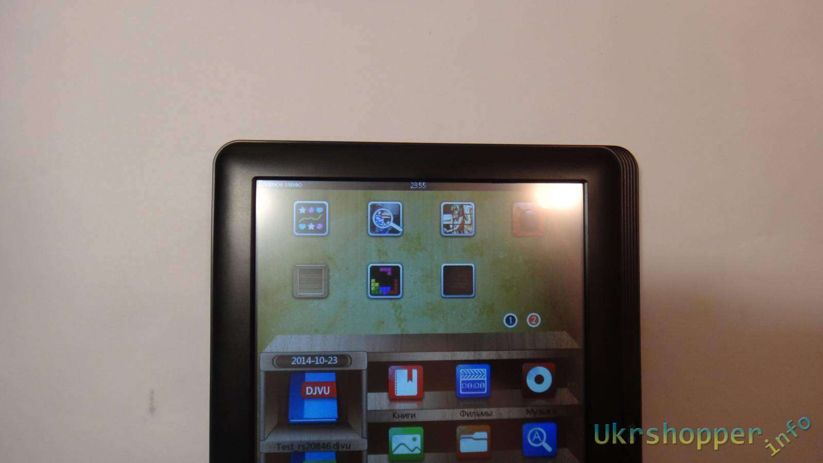 Сокол: Обзор электронной книги планшета ASSISTANT AE-801 8 дюймов
