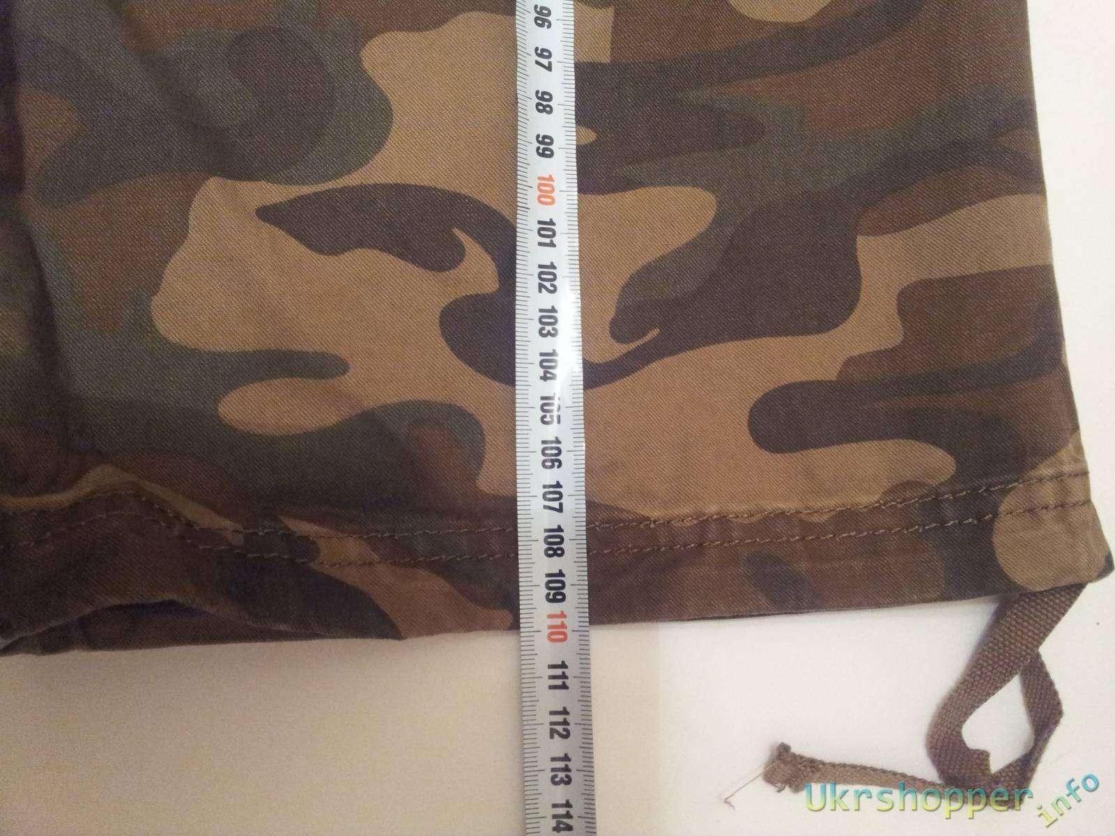 TinyDeal: Армейские камуфляжные штаны с карманами, на новый лад или готовимся к пикникам