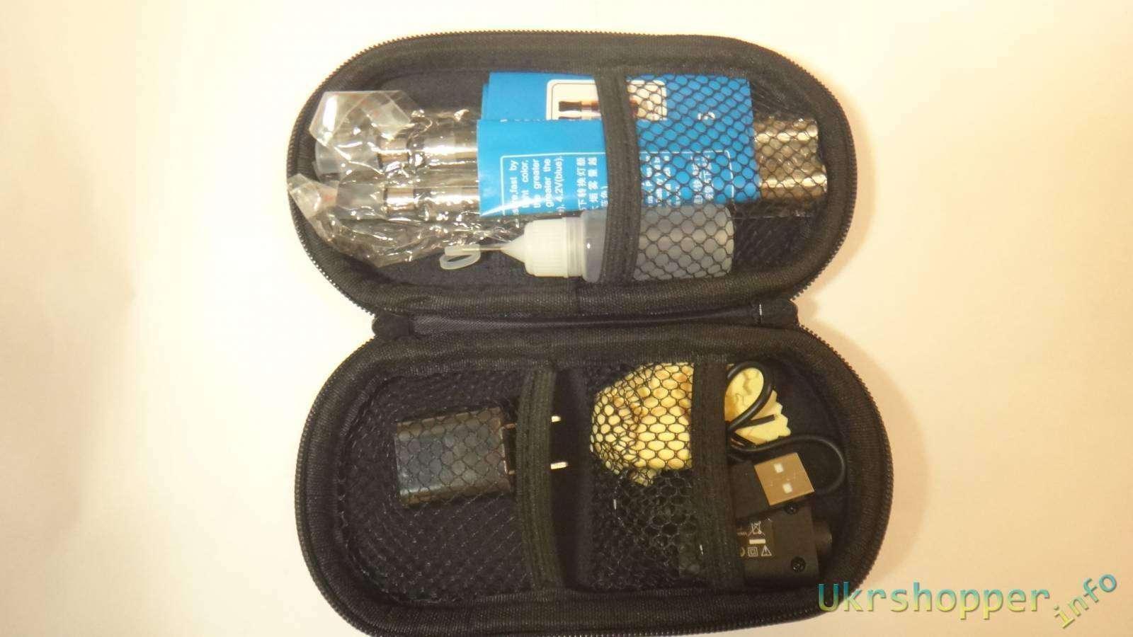 Aliexpress: Обзор полного набора для начинающего парителя - курителя