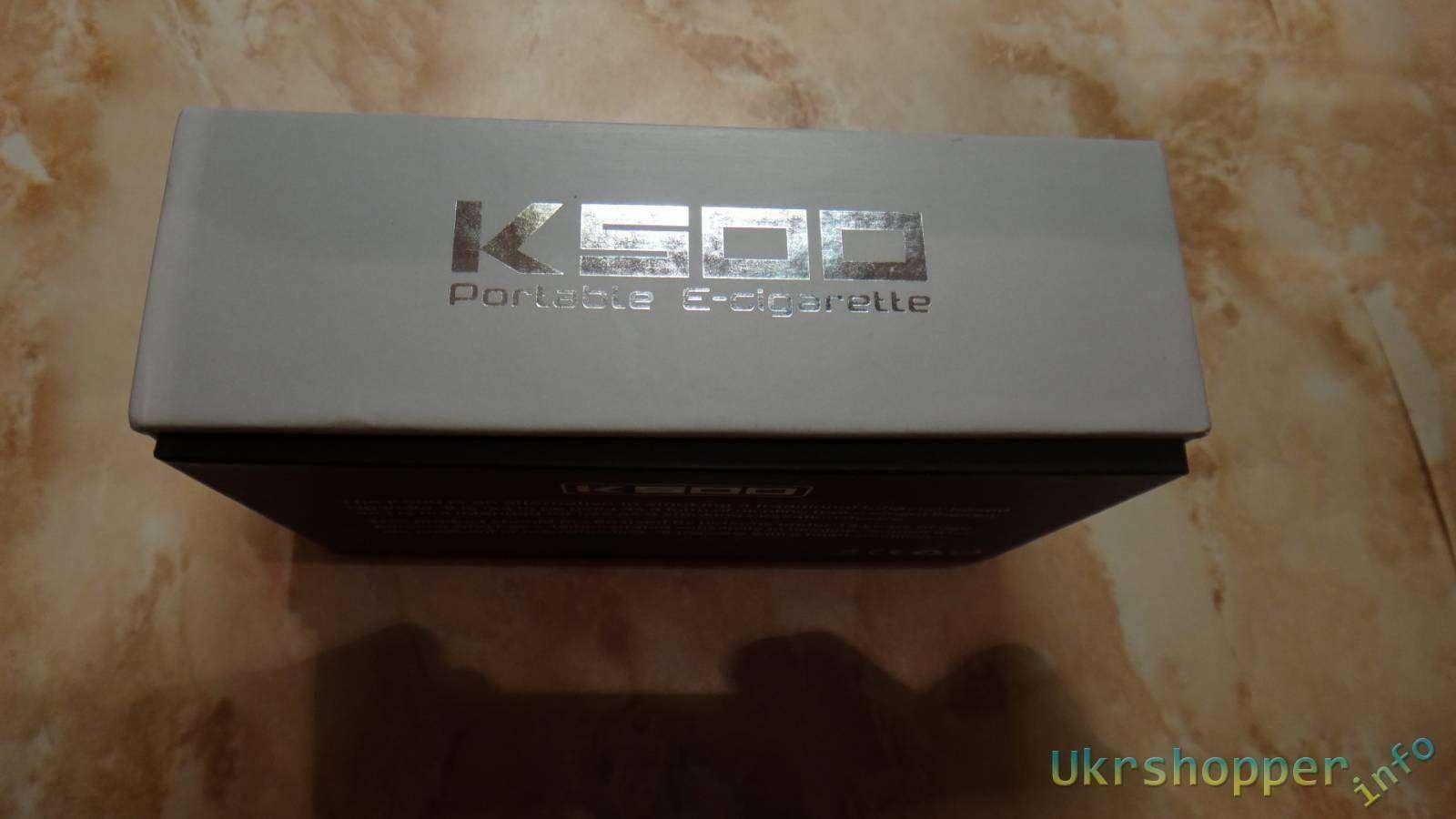 Electhinker: Электронная сигарета со стандартными размерами Simeiyue K500 с портсигаром повербанком