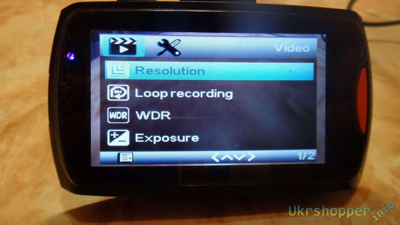 EachBuyer: Отличный видео регистартор Blackbox DVR для автомобиля Full HD 1080P с дисплеем и G-сенсором