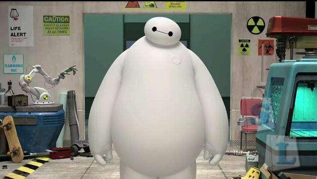 Aliexpress: Детский ночник робот BAYMAX из мультфильма Город героев от Дисней - INFOTHINK