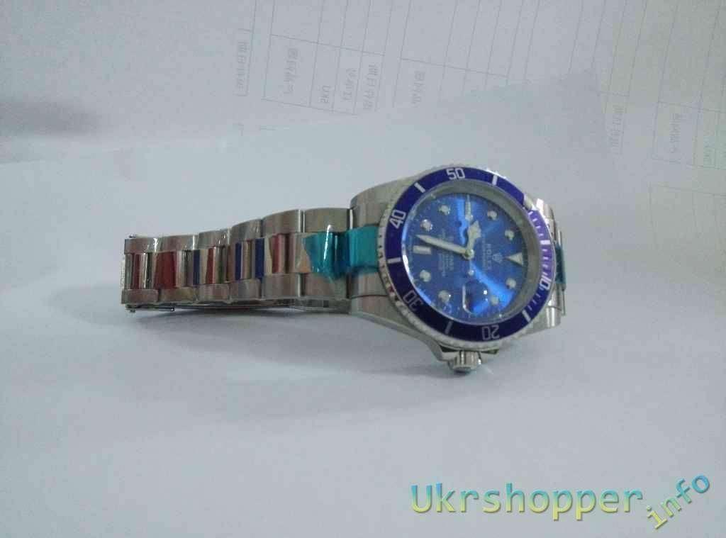 Popkind: Обзор китайской реплки Ролекс Submariner механические часы
