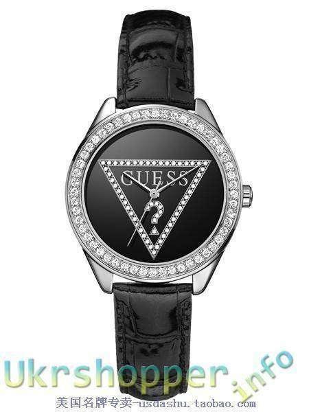 Aliexpress: Обзор реплики женских кварцевых часов GUESS - с кристаллами Сваровски