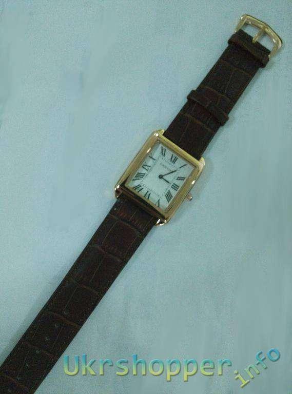 Popkind: Обзор реплики мужских кварцевых часов Cartier SANTOS-DUMONT