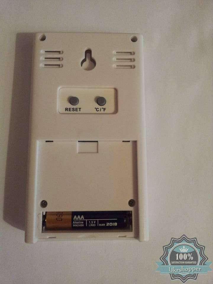 BuyinCoins: HX-808 Термометр, гигрометр, часы с будильником и памятью.