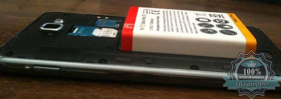 Tmart: Усиленный аккумулятор 5200 mAh для SAMSUNG Galaxy Note