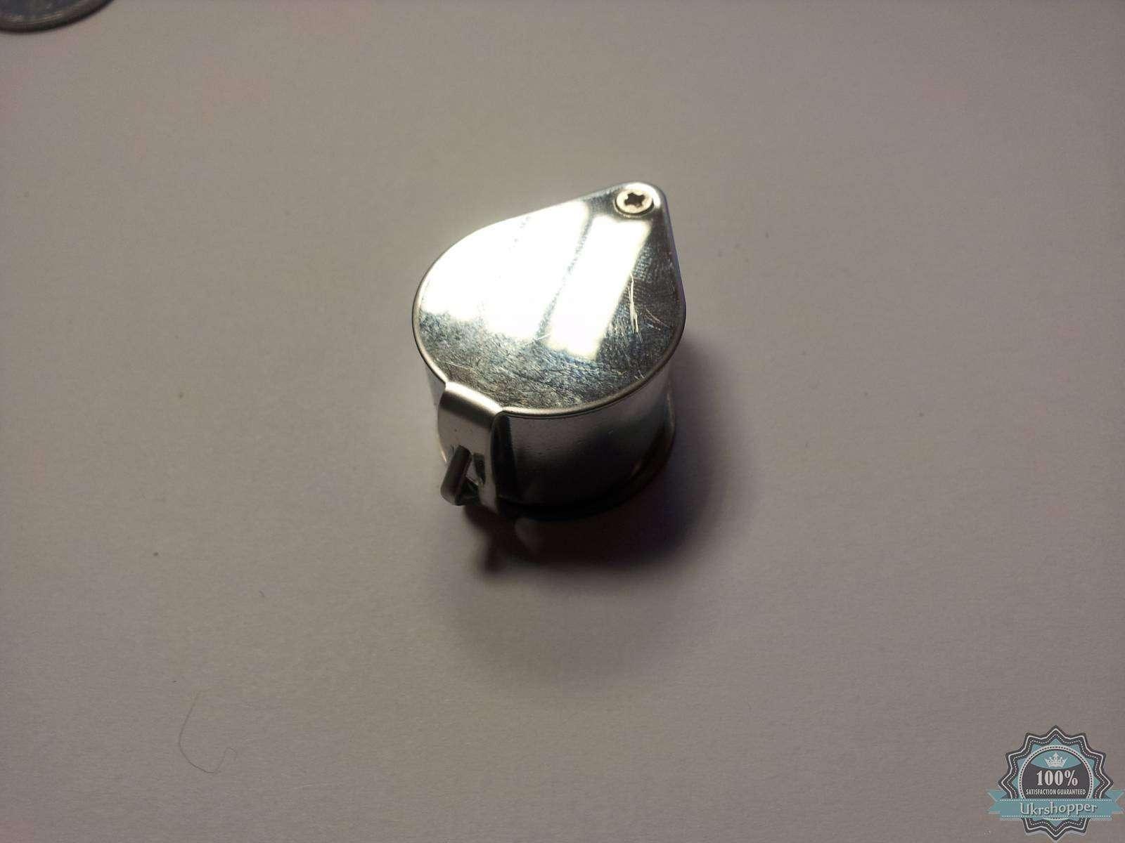 Aliexpress: 30ти кратная складная ювелирная  мини лупа