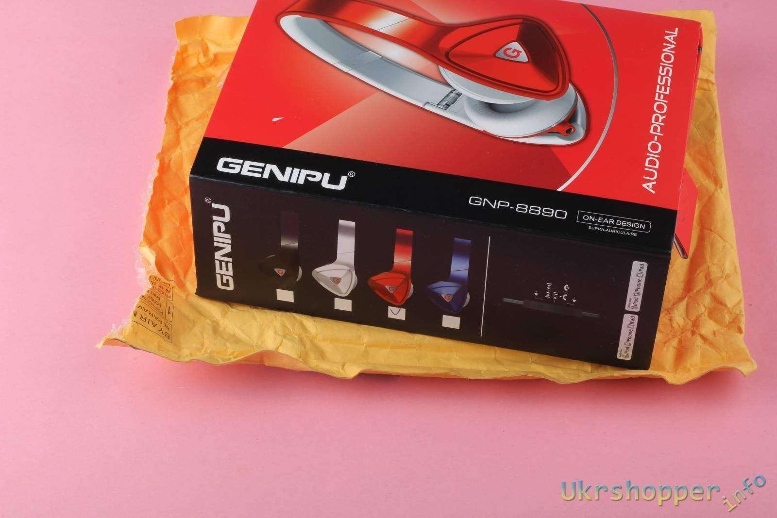 Aliexpress: Обзор гламурных наушников GENIPU с неплохим звуком и стильным дизайном