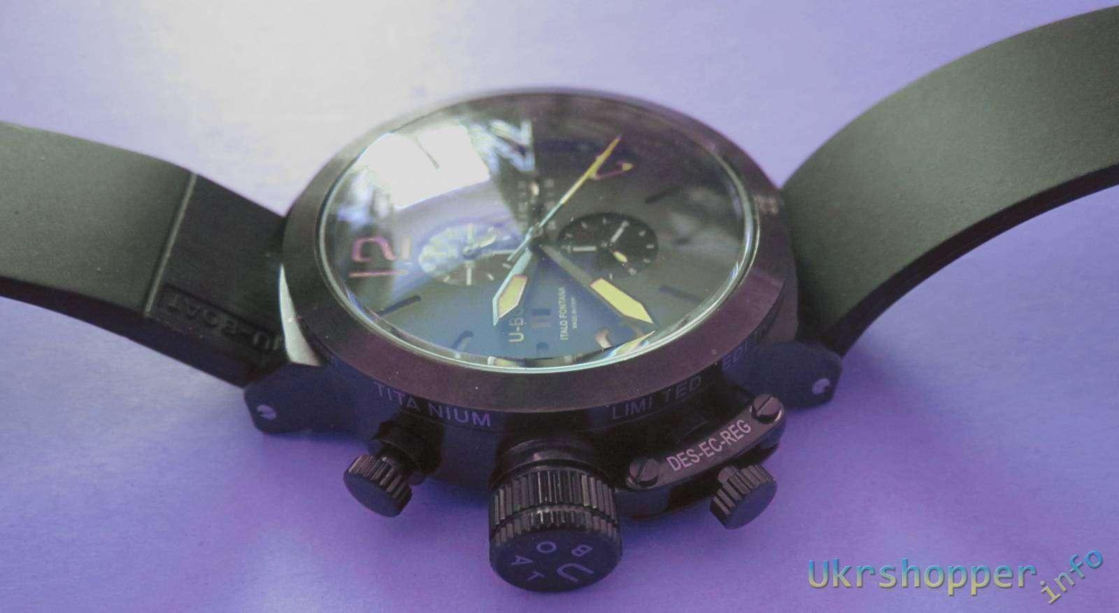 Aliexpress: Обзор реплики итальянских мужских стильных часов U-Boat Italo Fontana