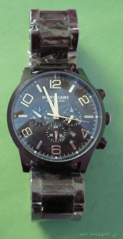 Другие - Украина: Обзор дорогих подарочных механических часов хронографа реплика MONTBLANC