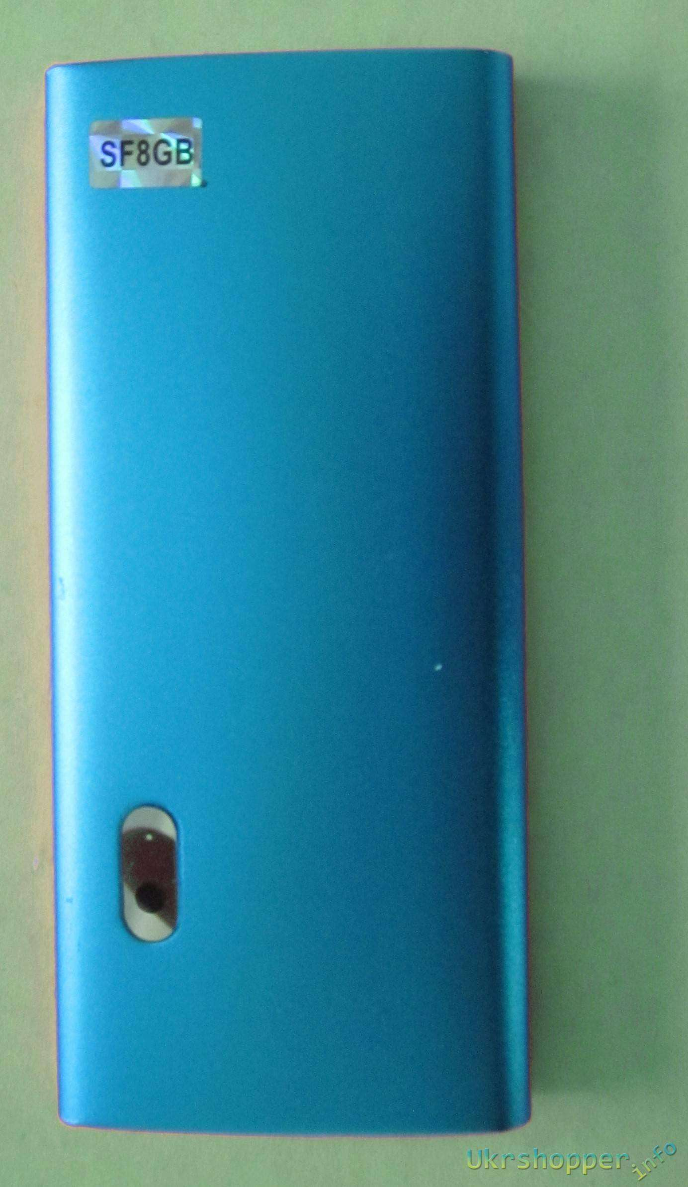 Aliexpress: Обзор MP4 плеера с 8Gb памяти на борту