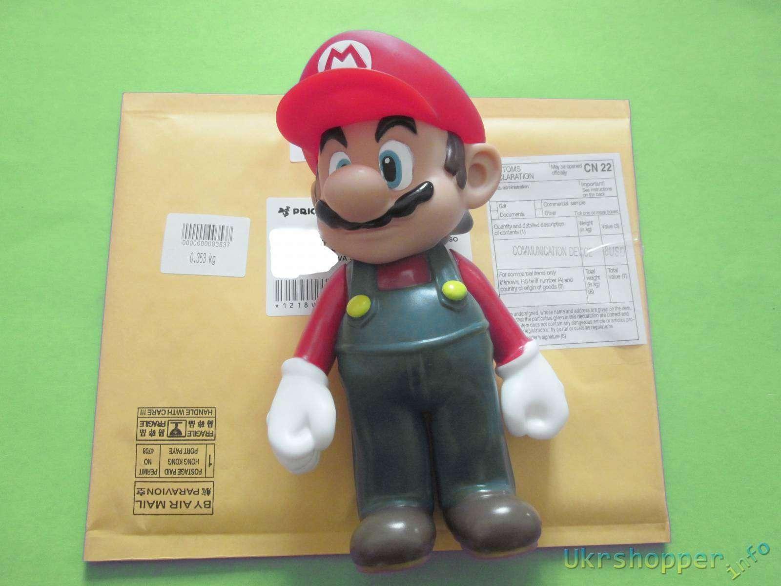 Aliexpress: Обзор игрушки из приставки - непревзойденные братья Марио статуэтка игрушка