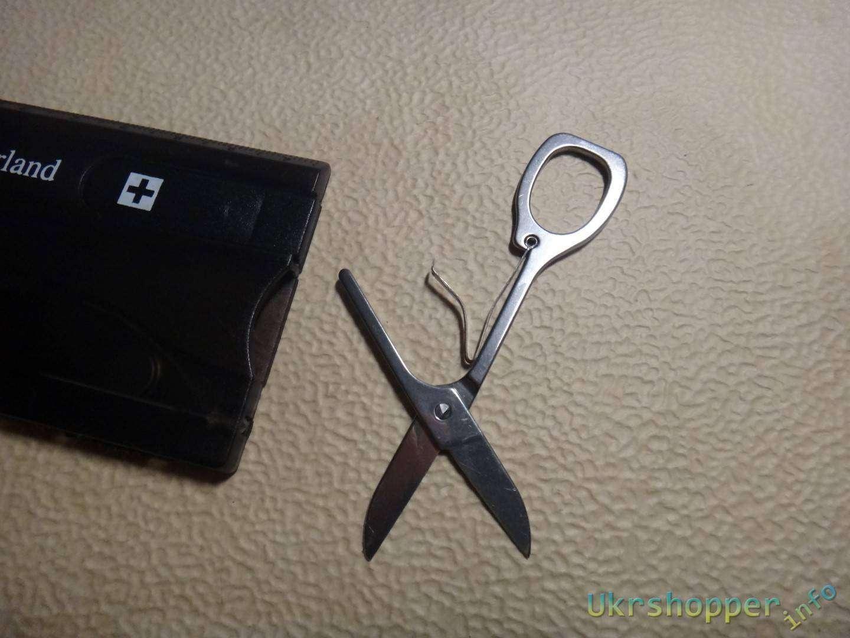 Banggood: Швейцарская кредитка мультитул или набор инструментов в кошельке