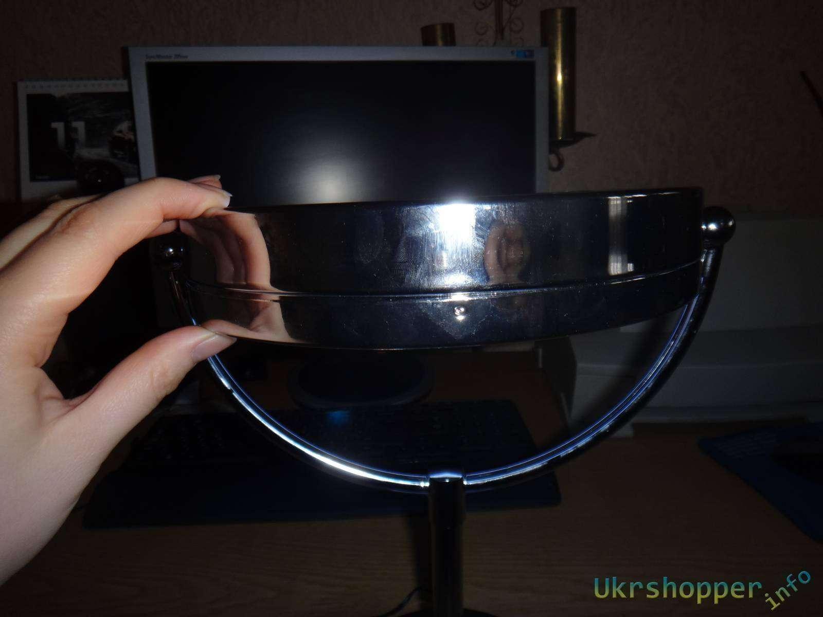 Сокол: Обзор косметического зеркала для ухода за лицом  Beurer BS 69 с подсветкой