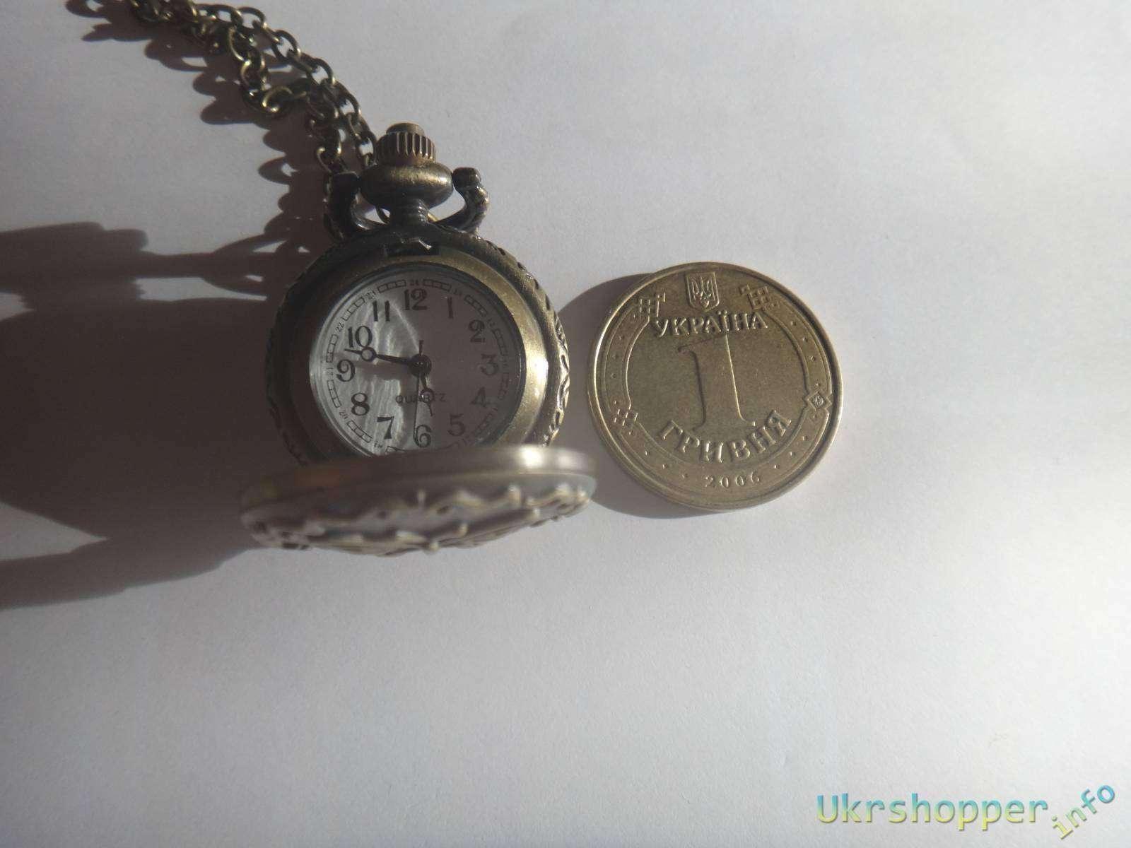 BuyinCoins: Обзор винтажных часиков на цепочке